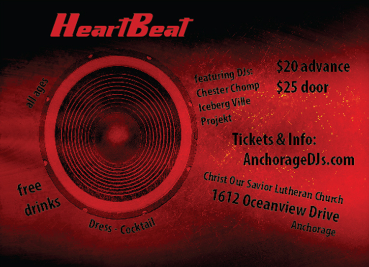 HeartBeat Flyer Back